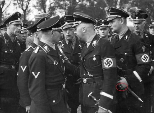 Sepp Dietrich, Heinrich Himmler, Karl Wolff, 1934